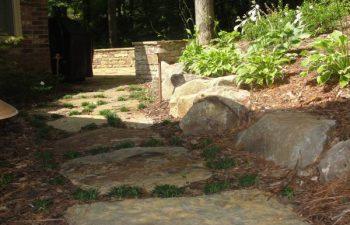 garden flagstone paver